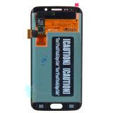 Écran LCD de convertisseur analogique/numérique de contact d'étalage de téléphone cellulaire pour le bord G925A G925t de la galaxie S6 de Samsung