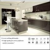 Moderne UV Hoge Glanzende Keukenkast (ZH091)