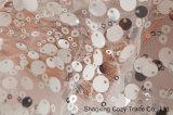 100% вышивка сетки полиэфира с по-разному цветами размера Sequins для одежд, украшение, Wedding