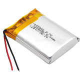 Batteria del polimero del litio dell'OEM 3.7V 600mAh con Ce RoHS MSDS