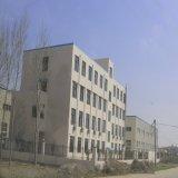 Edificio de estructura de acero con placa de cemento de fibra