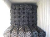 Tubo galvanizado autógena del cuadrado del acero de carbón de ASTM para el edificio