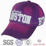 Gewaschenes Cotton Cap mit Zoll-gebildetem Logo