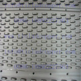 Örtlich festgelegtes Edelstahl-Tellersegment für Spalte-Aufsatz