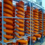 Concentrador de espiral de la gravedad / separador de hierro y cobre tubo espiral de la máquina