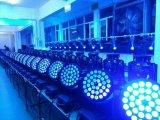 10W 36 LED 세척 급상승 이동하는 맨 위 단계 DJ는 점화한다