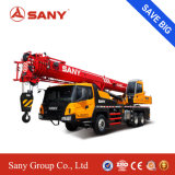 Sany Stc250 25 tonnellate di acciaio ad alta resistenza con la gru montata cross-section a forma di U con la carrozza comoda della gru mobile da vendere