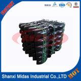 Soldadas de aço carbono da Conexão do Tubo Sch60 Cotovelo 6 Polegada