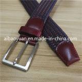 Cuir tanné et fil de coton ciré de la courroie tressé