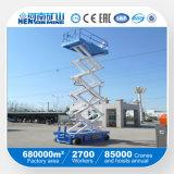 plataforma móvil automotora de la elevación 250kg para la venta caliente