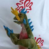 견면 벨벳 공룡 전기 장난감