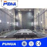 Environnement de salle de sablage d'équipement de protection pour grand nettoyage de soupape