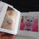 Mini Pocket Dust Jacket Hardcover Photo Book