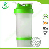 bottiglia dell'agitatore della proteina 450ml con la sfera (BB450)