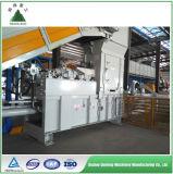 Prensa hidráulica horizontal para el papel usado