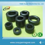 Imán de ferrita de anillo de diversos tamaños disponibles