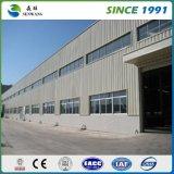 低温貯蔵の鋼鉄格納庫の鋼鉄ガレージのためのプレハブの鉄骨フレームの構造の建物の研修会