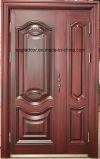 Segurança do melhor preço de aço exteriores da porta de ferro (EF-S069)