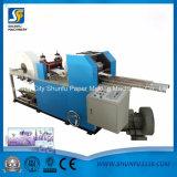 2 Colores Impresión Plegado automático de la servilleta de papel repujado Precio de la máquina de fabricación de papel
