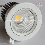 Epistar 20W/CREE COB Downlight empotrable de techo LED regulable