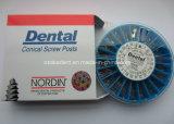 Acier inoxydable matériel d'implant dentaire/poteau plaqué/titanique d'or de vis