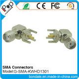 Connecteur coaxial des connecteurs Kwhd1301 pour le connecteur de SMA