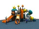 Спортивная площадка популярного безопасного парка атракционов напольная для скольжения детей