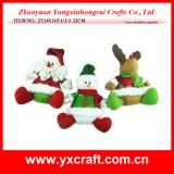 Item de la Navidad de Haning del bolso del fieltro del calcetín del regalo de la organización de la Navidad de la decoración de la Navidad (ZY14Y315-1-2-3)