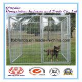 Caldo-Diipped-Galvanizzato intorno alla fossa di scolo del cane della rete metallica del tubo