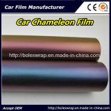 pellicola del Chameleon 3D, vinile cambiante di colore di corpo dell'automobile, pellicola del vinile dell'involucro del Chameleon