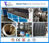 Раунда HDPE углерода гофрированную трубу экструзии линии / выдавливание машины