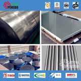 plaque d'acier inoxydable de la qualité 304 316