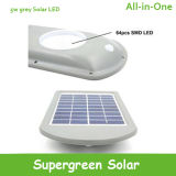 Lumière solaire de mur de détecteur de mouvement de lampe de jardin d'énergie solaire