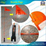 5FTのガラス繊維のポーランド人鋼鉄ブラケットPVCバイクのフラグ(A-NF15P07001)