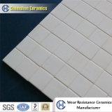 Bastone quadrato delle mattonelle di ceramica dell'allumina del mosaico sul documento