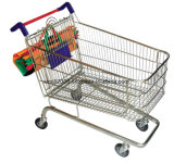 Het winkelen de Kar van de Karretjes van de Keuken van Karretjes voor Supermarkt