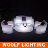 多く300のデザインLED照明PEのプラスチック家具LED棒ソファー