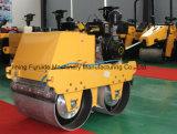 550kg Compactador vibratório de pequeno cilindro duplo (FYLJ-S600C)
