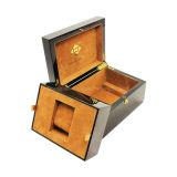 Custom laqué brillant des boîtes en bois simple de regarder le commerce de gros
