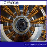 Tubulação do grande diâmetro que faz a maquinaria