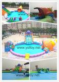 Het opblaasbare Pretpark van het Water Voor het Spelen van de Groep