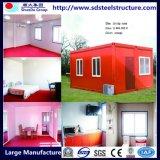 De gelukkige Plannen van het Huis van de Container van de Woonplaats van de Familie
