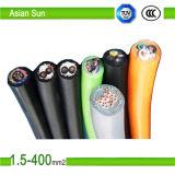 силовой кабель PVC ленты алюминиевой изоляции PVC проводника 0.6/1kv алюминиевый