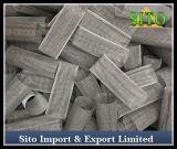 Filtre de maille en acier de filtre de cylindre d'acier inoxydable