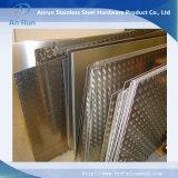 Алюминиевый гофрированный лист сделанный из сплава 5754