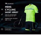 Uomini che ciclano la squadra Jersey di Rts degli insiemi + usura di misura di Shorts della busbana francese PRO
