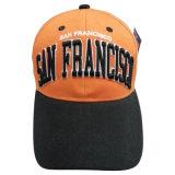 Gorra de béisbol de los 6 paneles con la insignia Bb173