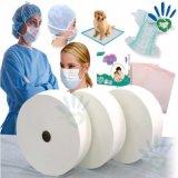 De medische Niet-geweven Beschikbare Niet-geweven Stof van het Ziekenhuis pp Spunbond