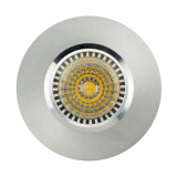 Lathe Aluminum GU10 MR16 Round Fixed Recessed LED Downlight (LT2000)