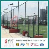 PVC庭および競技場のための上塗を施してあるチェーン・リンクの塀